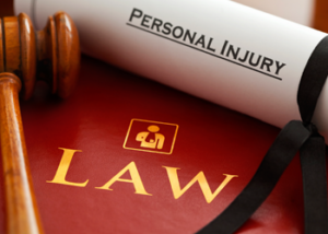 legal gavel by law book and personal injury paper on the legal desk of nalder law who specializes as personal injury attorneys in idaho falls
